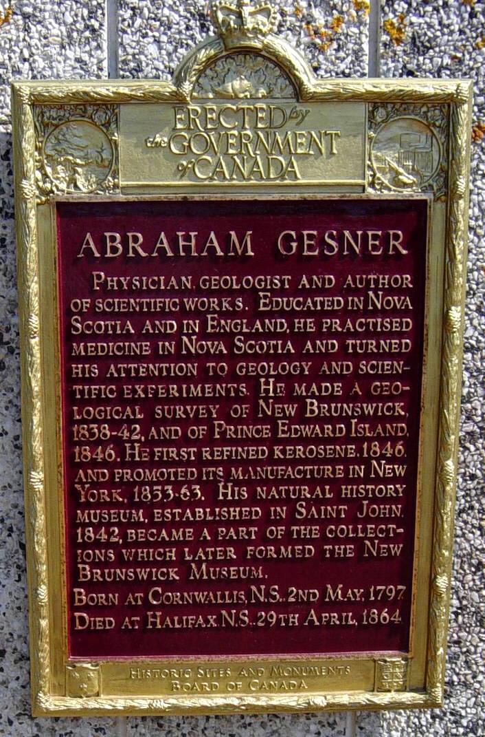 Abraham Gesner Monument