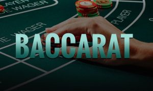 Online baccarat casino game